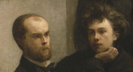 Arthur Rimbaud and Paul Verlaine