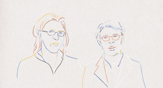 Jonathan Franzen and David Foster Wallace